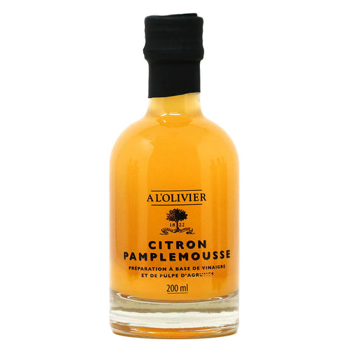 A L'Olivier - Lemon & Grapefruit Infused Fruit Vinegar, 200ml