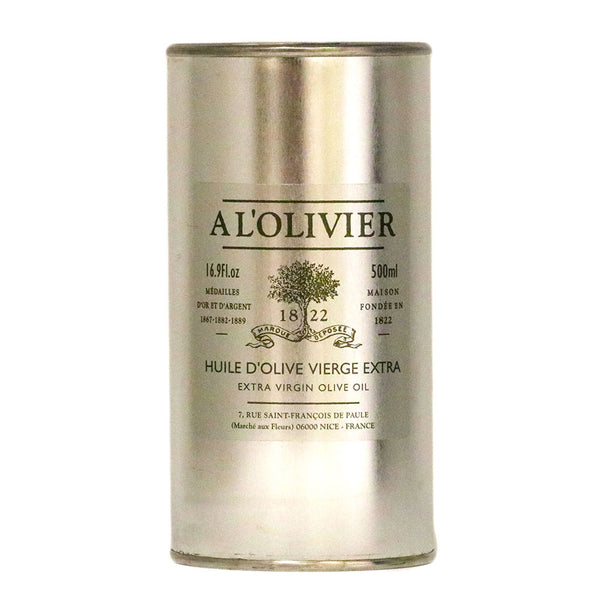 A L'Olivier - Extra Virgin Olive Oil, 500ml Refill Tin