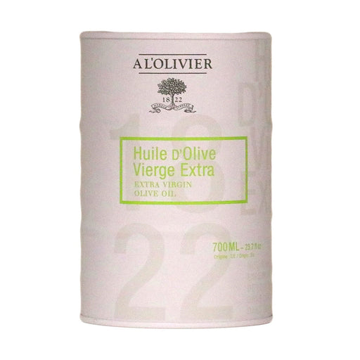 A L'Olivier - Extra Virgin Olive Oil, 700ml White Drum