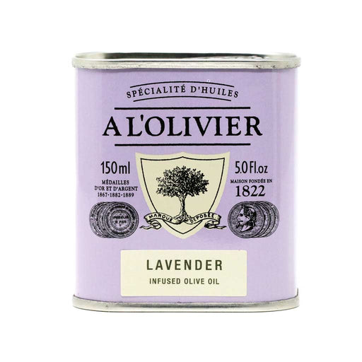 A L'Olivier - Lavender Infused Extra Virgin Olive Oil, 150ml