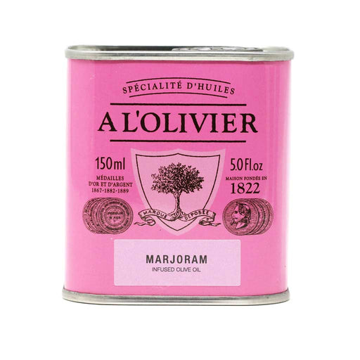 A L'Olivier - Marjoram Infused Extra Virgin Olive Oil, 150ml