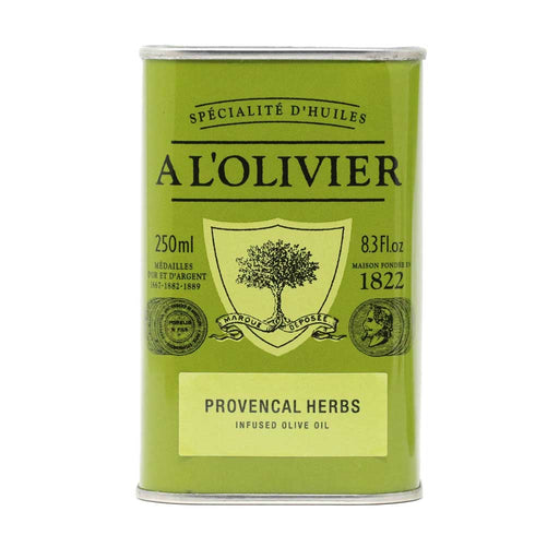 A L'Olivier - Herbs of Provence Infused Extra Virgin Olive Oil, 250ml Tin