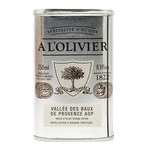 A L'Olivier - French Extra Virgin Olive Oil from Vallee des Baux de Provence PDO, 250ml