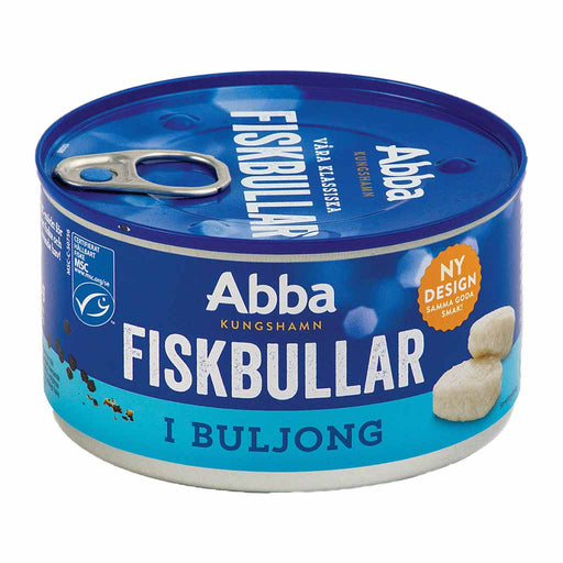 Abba Swedish Fishballs in Bouillon