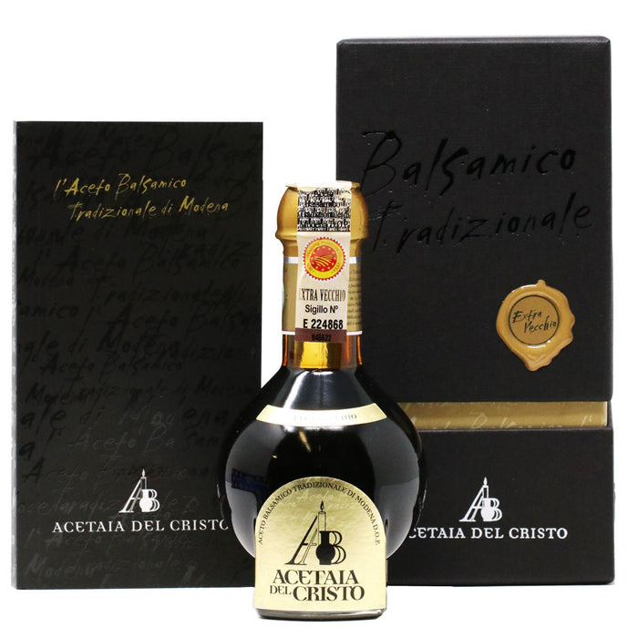 Del Cristo - Traditional Gold Seal Balsamic Vinegar, At Least 25 Years (Extra Vecchio), 100ml