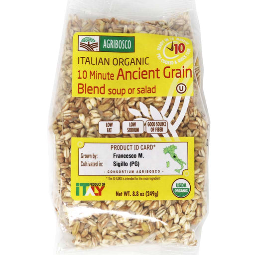 Agribosco - 5 Organic Italian Ancient Grains Blend, 8.8oz