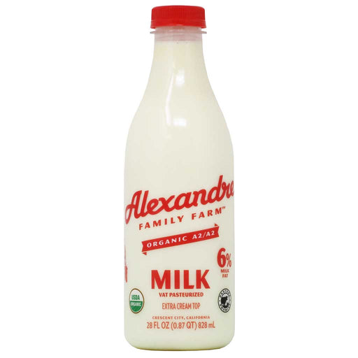 Alexandre - Organic Pasteurized A2/A2 Whole Milk, 28 fl oz