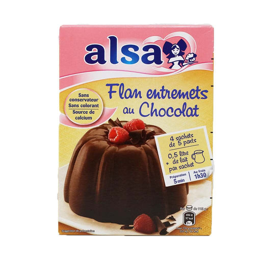 Alsa - Chocolate Flan Mix, 232g (8.2oz)