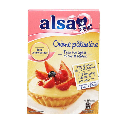Alsa - Creme Patisserie (Pastry Cream) Mix, 390g (13.8oz)