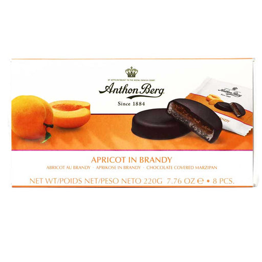 Anthon Berg - Apricot in Brandy Chocolate Marzipan, 7.6oz