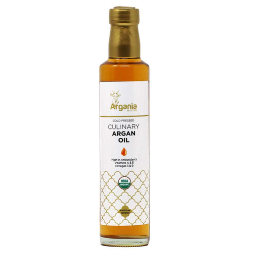 Argania - Organic Culinary Argan Oil, Cold Pressed, 8.4oz
