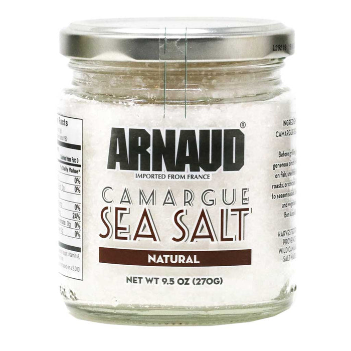 Arnaud - Natural Sea Salt, 9.5oz