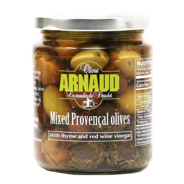 Arnaud - 5 Mixed Provencal Olives, 9.2oz