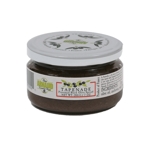 Arnaud Olives, Black Olive Tapenade, 7oz Jar