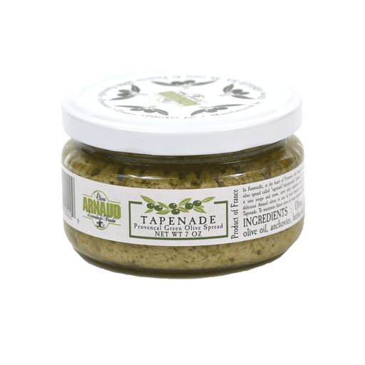Arnaud Olives, Green Olive Tapenade, 7oz Jar
