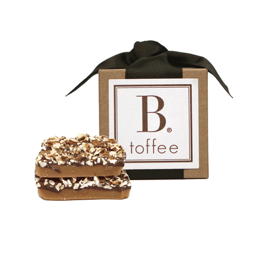 B Toffee - Chocolate Toffee - Gift Box, 4oz