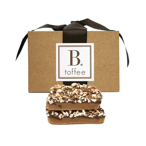 B Toffee - Chocolate Toffee - Gift Box, 16oz