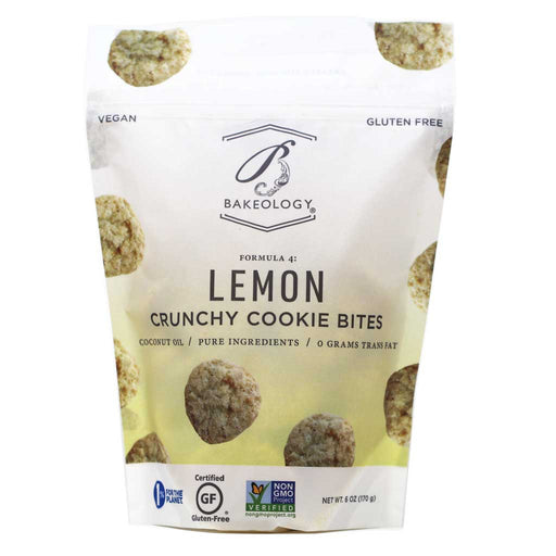 Bakeology - Lemon Crunchy Cookie Bites, 6oz