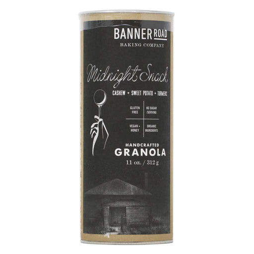 Banner Road - Midnight Snack Organic Granola (Cashew, Sweet Potato, Turmeric), 11oz