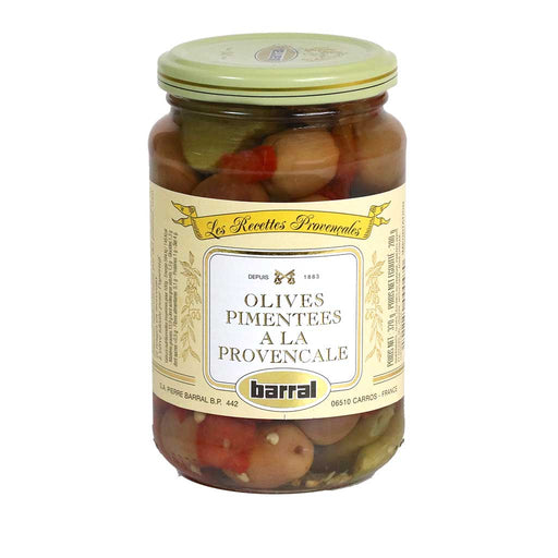 Barral - Spicy Provencal Olive Mix, 200g (7oz)