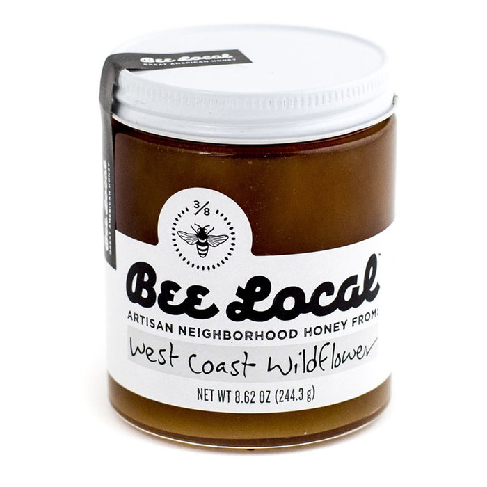 Bee Local - West Coast Wildflower Raw Honey, 8.6oz
