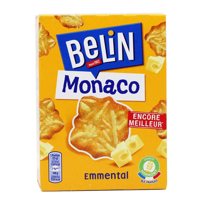 Belin - Monaco French Cheese Crackers, 3.5oz (100g)