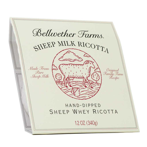 Bellwether Farms - Sheep Ricotta Cheese, 12oz