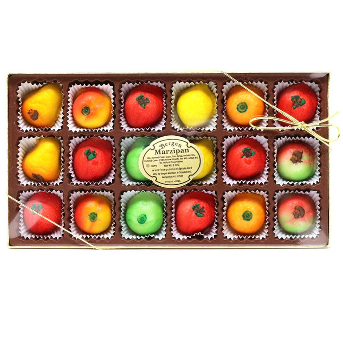 Bergen Marzipan - Fruit Shaped Marzipan Tray