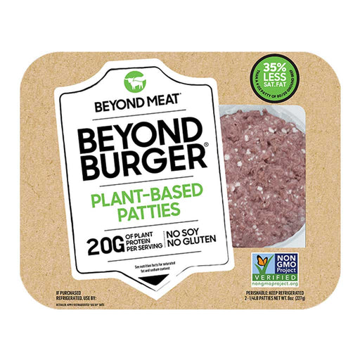 Beyond Meat - Plant-Based Burger Patties, 8oz (227g)