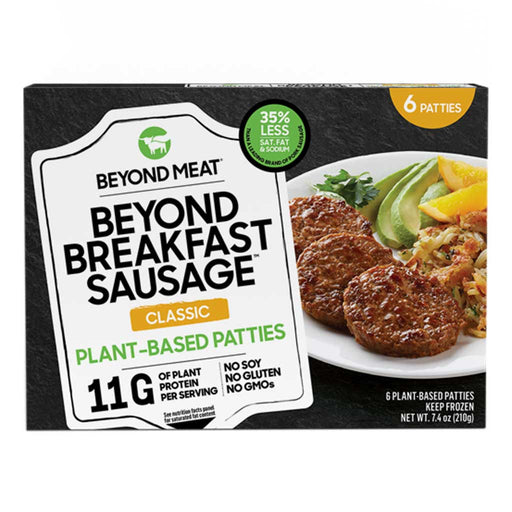 Beyond Meat - Plant-Based Breakfast Sausage Patties, Classic, 7.4oz (210g)