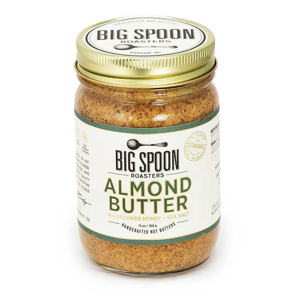 Big Spoon Roasters - Almond Butter with Wildflower Honey & Sea Salt, 13oz