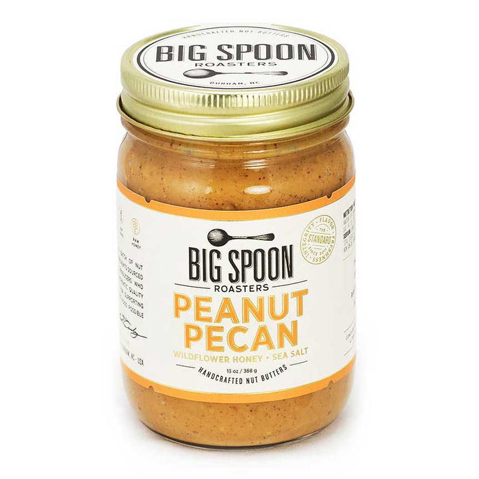 Big Spoon Roasters - Peanut Pecan Butter with Wildflower Honey & Sea Salt, 13oz