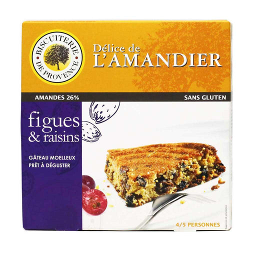 Gluten Free Almond Cake with Figs & Grapes, 8.47 oz (240g)
