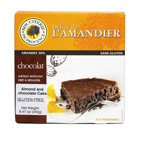 Biscuiterie de Provence - Almond Chocolate Cake, Gluten Free - 8.47 oz
