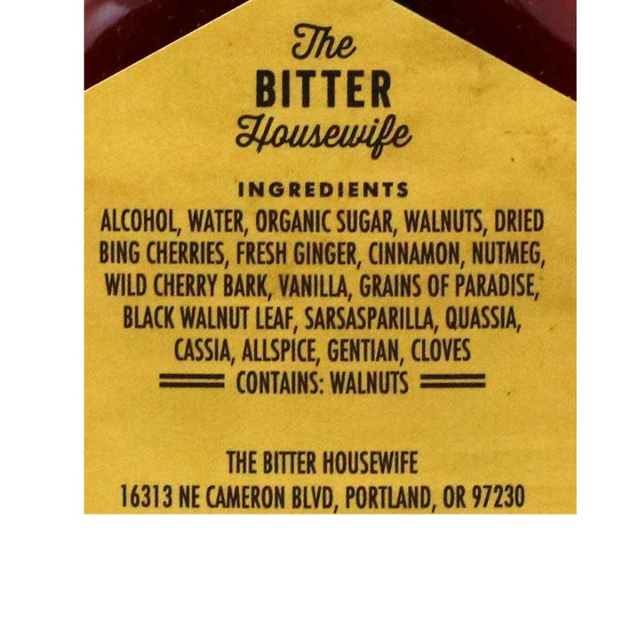 The Bitter Housewife - Bull Run Barrel Aged Cocktail Bitters, 3.4oz (100ml)