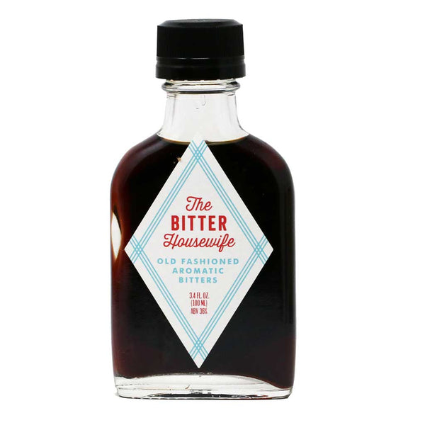 The Bitter Housewife - Old-Fashioned Aromatic Cocktail Bitters, 3.4oz (100ml)