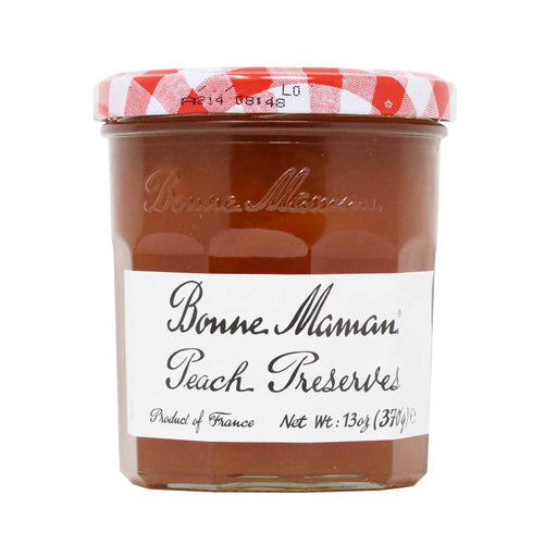 Bonne Maman French Peach Jam, 370g (13oz)