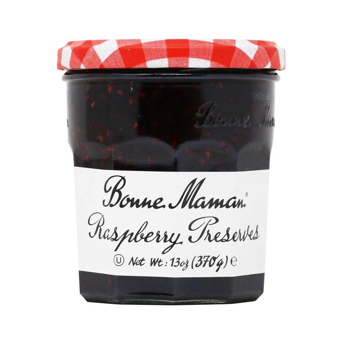 Bonne Maman French Raspberry Jam, 370g (13oz)