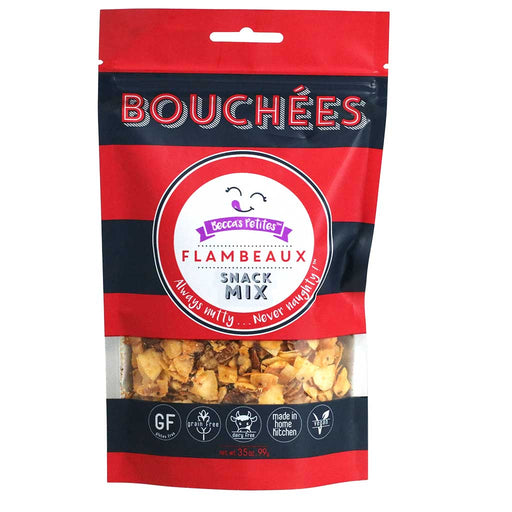 Becca's Petites Bouchees - Paleo Snack Mix, Spicy (Cayenne, Red Peppers, Garlic), 3.5oz