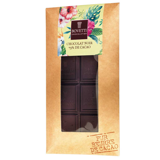 Bovetti French Dark Chocolate Bar, 73% Cocoa