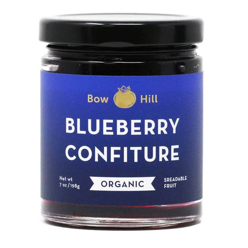 Bow Hill Blueberries - Organic Blueberry Confiture, 7oz (198g)