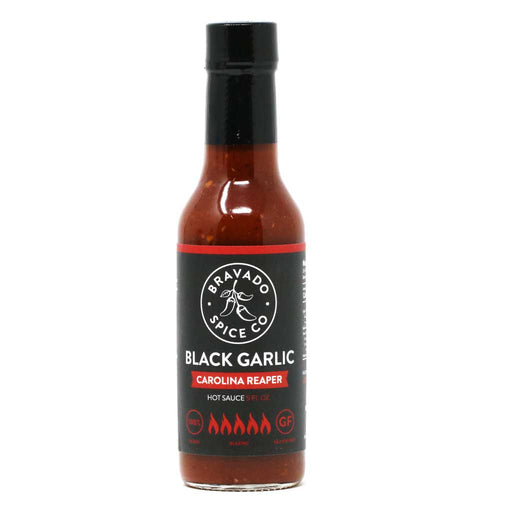Bravado Spice - Black Garlic Carolina Reaper Hot Sauce, 5oz