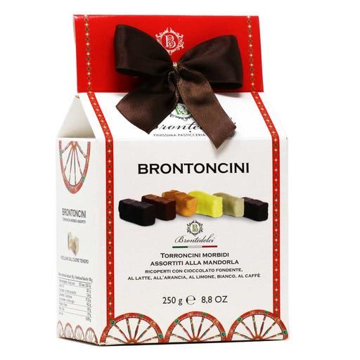 Brontedolci - Assorted Little Nougats 'Brontoncini', 250g Box