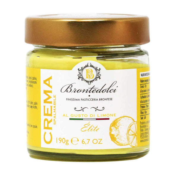 Brontedolci - Sicilian Lemon Cream, 190g Jar