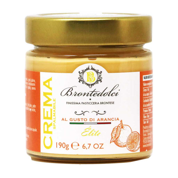 Brontedolci - Sicilian Orange Cream, 190g Jar
