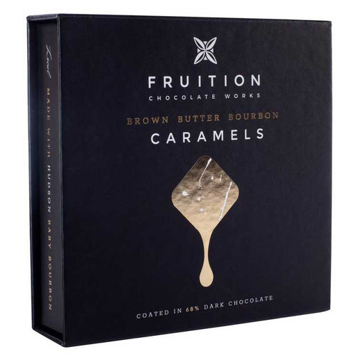 Fruition Chocolate Works - Brown Butter Bourbon Caramels, 5oz