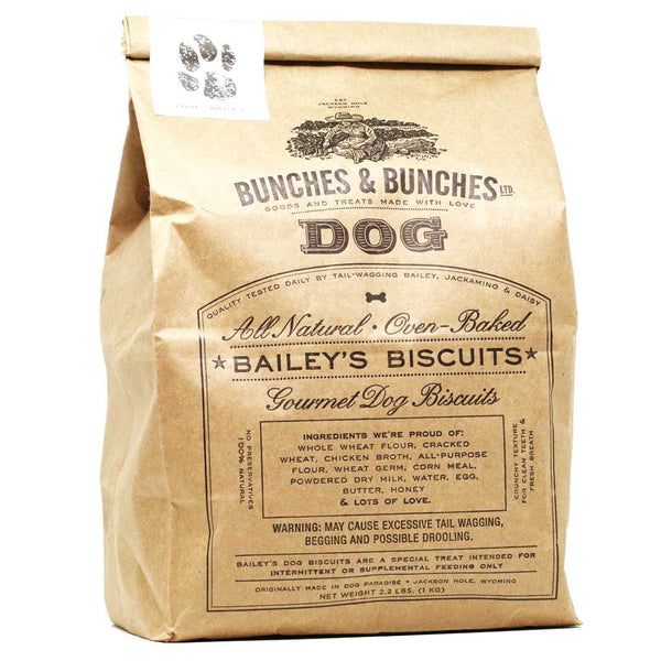 Bunches & Bunches - Bailey's Handmade Dog Biscuits, 2.2lb