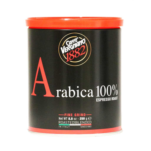 Caffe Vergnano - Arabica Espresso Fine Ground Coffee, 8.8oz