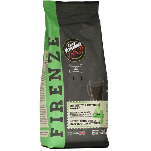 Caffe Vergnano - Firenze Ground Coffee, 12oz
