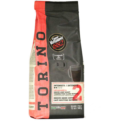 Caffe Vergnano - Torino Ground Coffee, 12oz